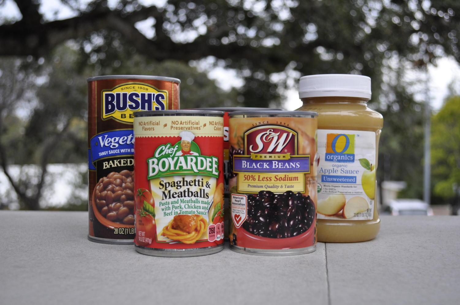 Donated+canned+foods+and+non-perishables+will+go+to+the+Second+Harvest+Food+Bank.