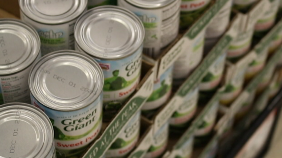 Canned food drive creates giving spirit