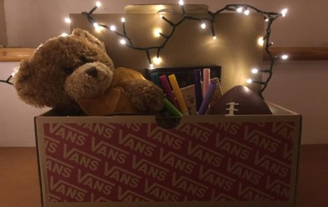 Shoeboxes filled with toys light up the holiday season