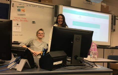 The Girls Who Code Club meets every Thursday in D24 to learn more about the world of computer science.