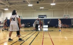 Girls' junior varsity basketball displays dominance against the Titans