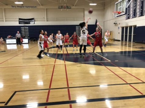 Freshmen girls' basketball shows no mercy