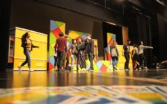 Students in this year's spring musical have been rehearsing after school for about three months.