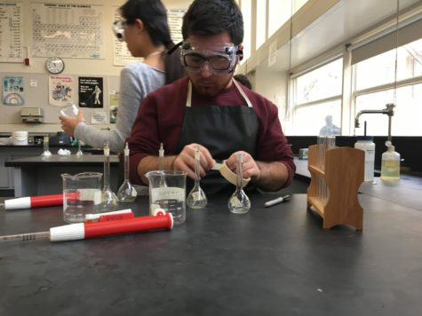 Chemistry Club offers support to chemistry students
