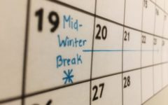 Mid-Winter Break was added to the Sequoia Union High School District schedule this year in place of Presidents' Weekend.