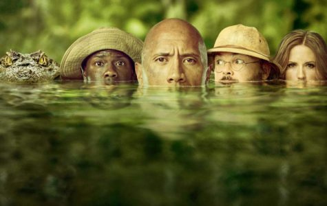 'Jumanji: Welcome to the Jungle' stars Dwayne Johnson, Kevin Hart, Jack Black, and Karen Gillan.