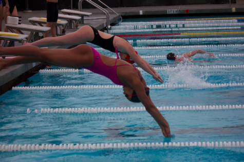 Carlmont swimmers dive into tryouts with great confidence