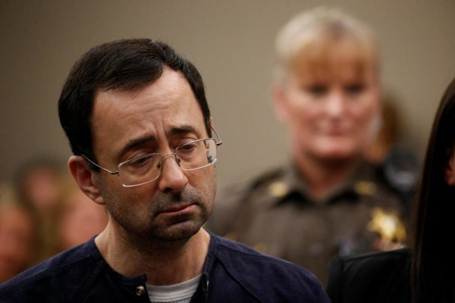 Larry+Nassar+getting+sentenced+to+40+to+175+years+in+prison+by+Judge+Rosemarie+Aquilina.