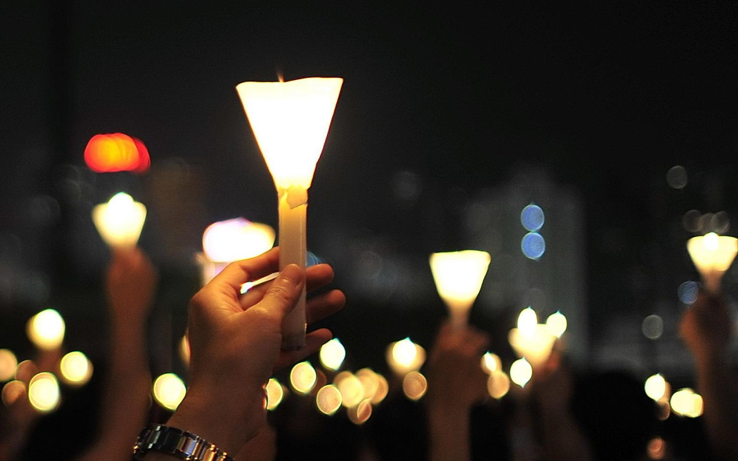 After the shooting at Marjory Stoneman Douglas High School, many participated in candle lit vigils to honor the lives of victims.