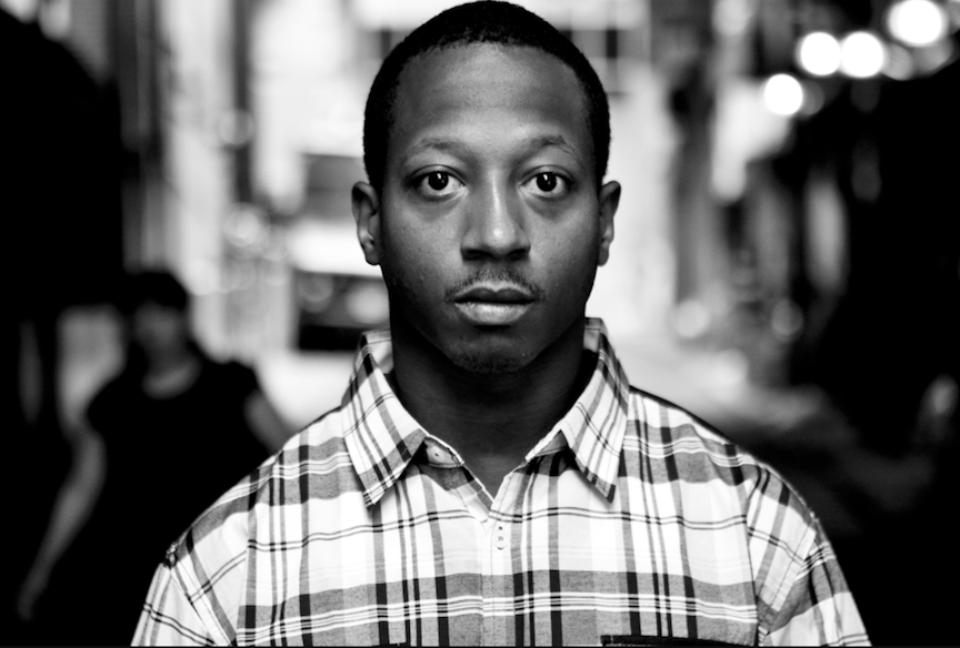 Kalief Browder poses in a photoshoot for the New York Times.