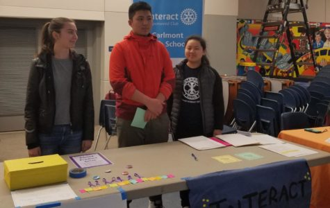 Interact Club encourages students to volunteer