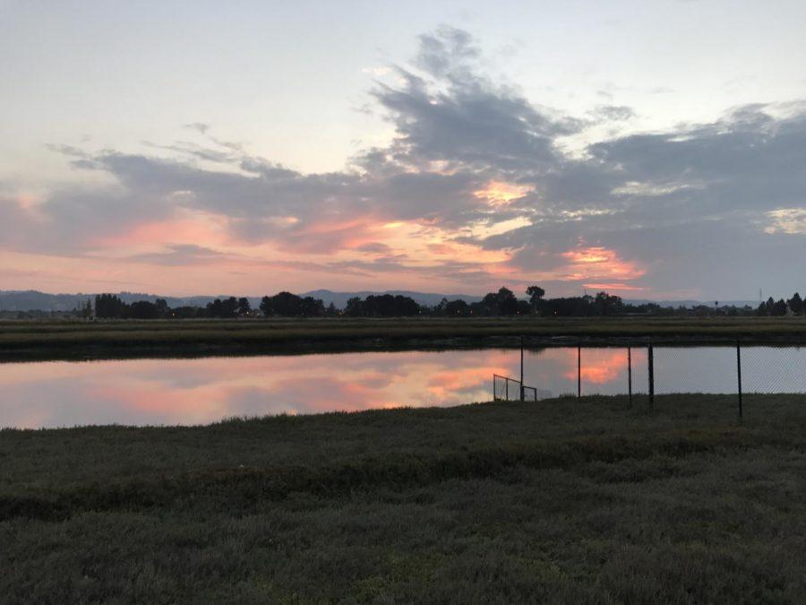 Beautiful+sunset+near+Belmont+Slough.