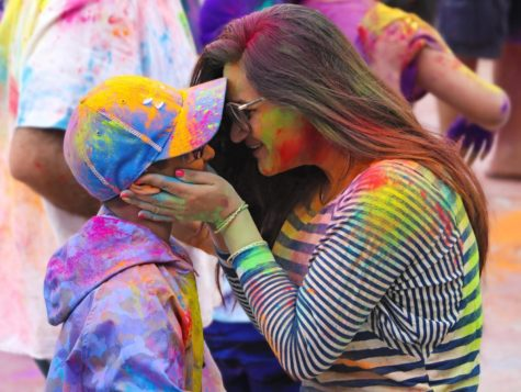 Holi celebrates spring with people of all colors