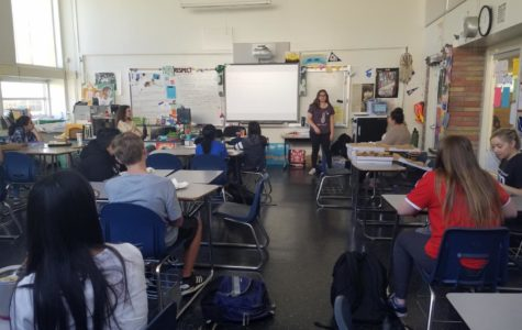 Freshmen learned about the opportunities that they can get during an AVID informational meeting that was held in C14.