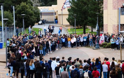 On March 14, 2018, Carlmont students walked out of class in solidarity with gun violence victims and survivors.