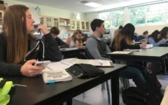 Students sit tight during long block period. They are able to focus on their work and get help if needed.
