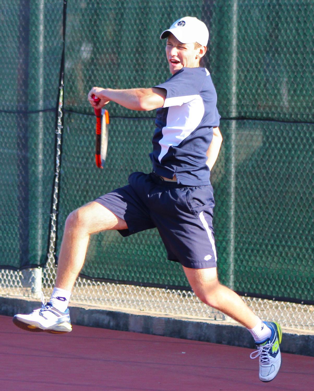 Senior+captain+Thomas+Reznik+wins+his+singles+match+7-5%2C+2-6%2C+10-7.