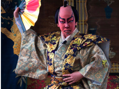 Kabuki play honors Japanese culture