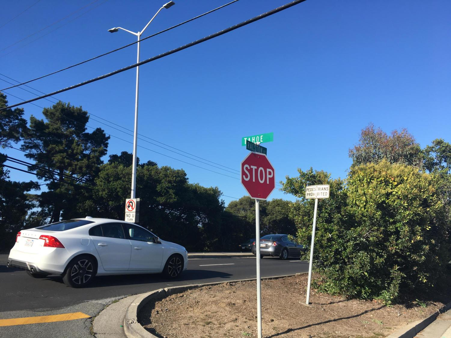The intersection of Tahoe Drive and Ralston Avenue is a place that experiences congestion at multiple times a day. Its troublesome traffic has led to the introducing of the Tahoe Drive and Ralston Avenue Intersection Improvements project.