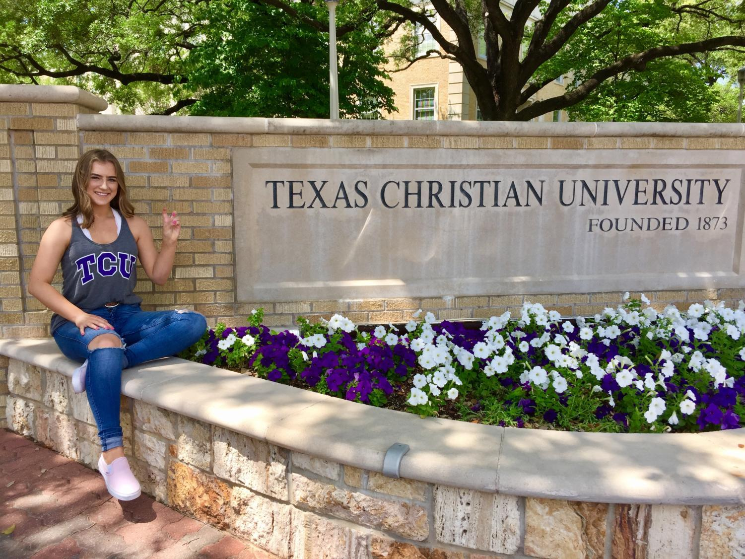 Texas Christian University (TCU) is one of the Texas schools I visited this week. Visiting the school gave me a much better outlook on the aspects of the school I like.