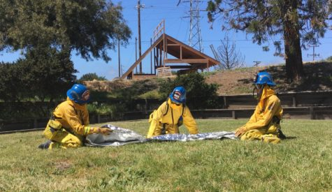The San Mateo County Fire Explorer Program builds firefighting skills