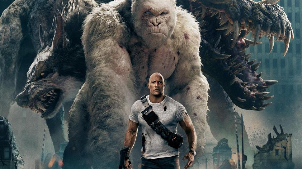 Brad Peyton delivers a mindless but entertaining film with his new 'Rampage.'
