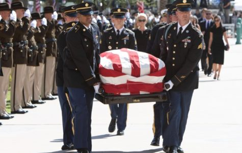 Senator McCain is laid to rest in Washington D.C. after his memorial service on Sept. 1.