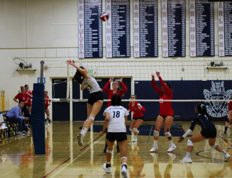Girls varsity volleyball sweeps Panthers