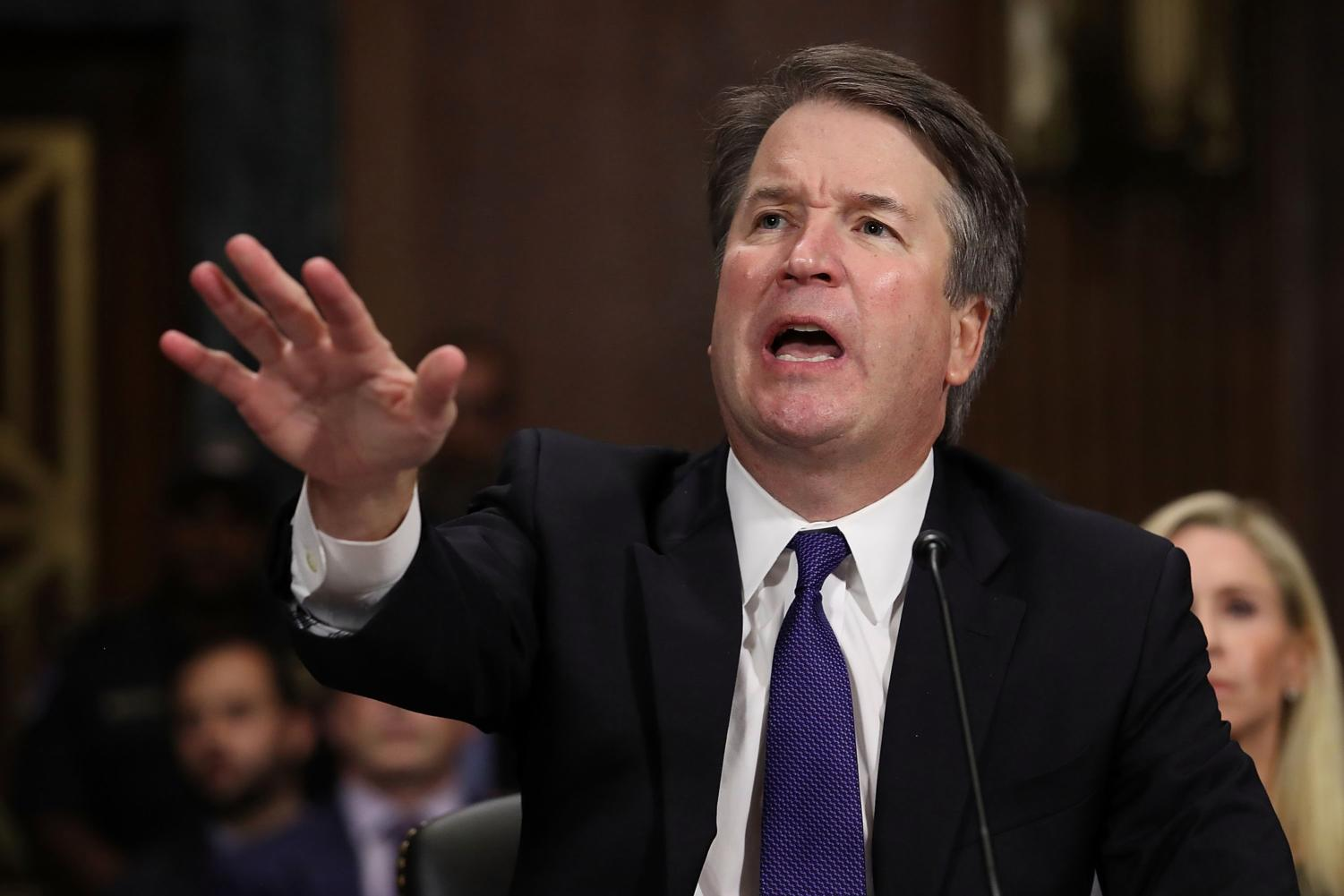 Judge Kavanaugh's demeanor at the hearing on Sept. 27 evoked concern among some senators.