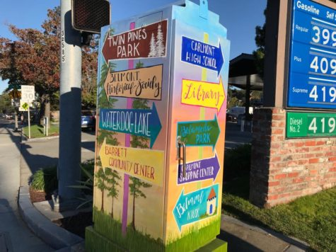 Utility box art brings color to Belmont