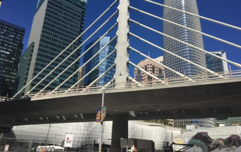 The purpose of the bridge is to connect all of San Francisco's transit services on one level.