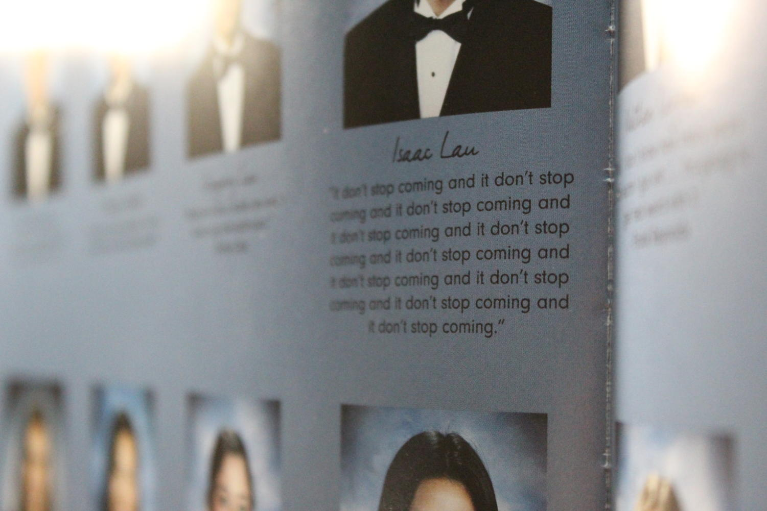 Senior quotes from page 122 of the 2017 yearbook