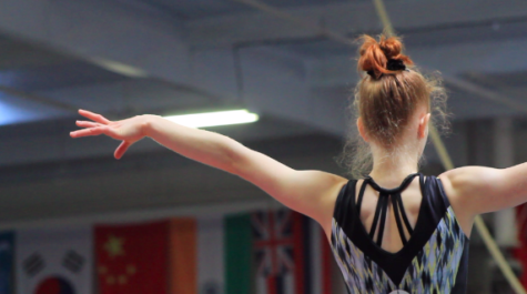 Student gymnast flips training hours into new opportunities