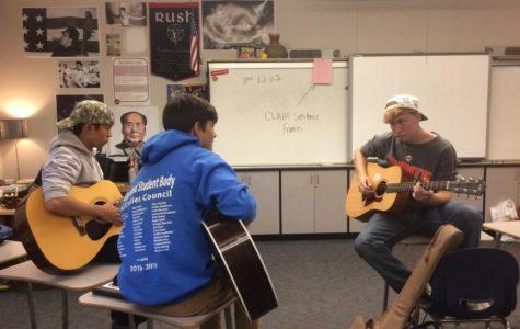 Guitar Club strikes a chord within members