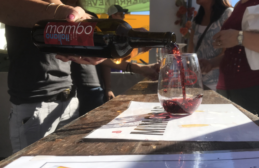 The annual San Carlos Art and Wine Fair includes many local wineries pouring drinks for wine and art enthusiasts alike.