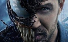 Tom Hardy transforms into a malicious alien who attempts to take over the world in 'Venom.'