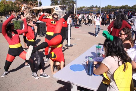 Contestants spook the competition in ASB's Halloween costume contest