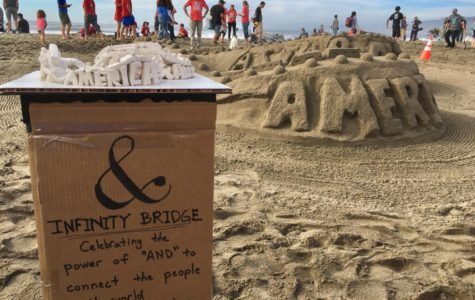 Each team at the Leap Sandcastle Classic designs their sandcastle ahead of time using clay.