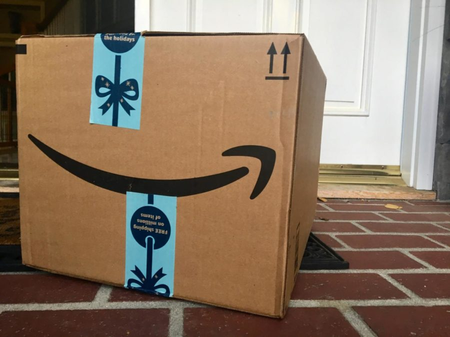 Amazon is one of the main  websites people use to complete their holiday shopping.