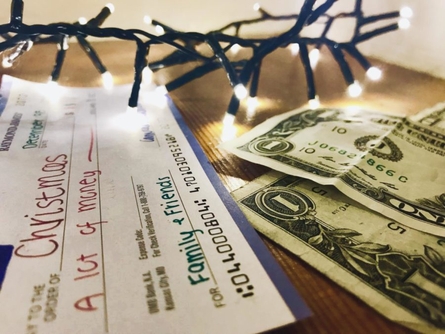 Along with joy, family, and gifts, the holiday season includes spending lots of money.