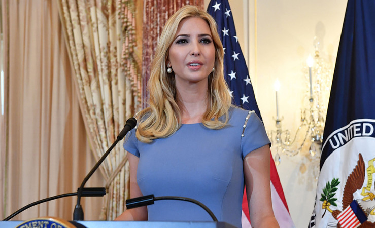 Ivanka Trump sent hundreds of government related emails through a personal account last year, despite the existing backlash Hillary Clinton faced in 2016.