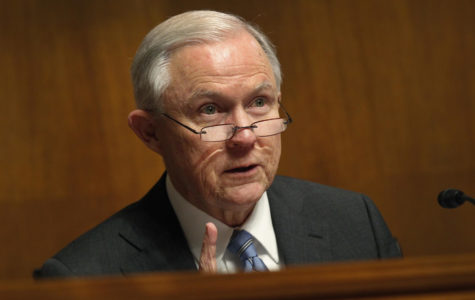 Jeff Sessions steps down from his position as U.S. Attorney General.