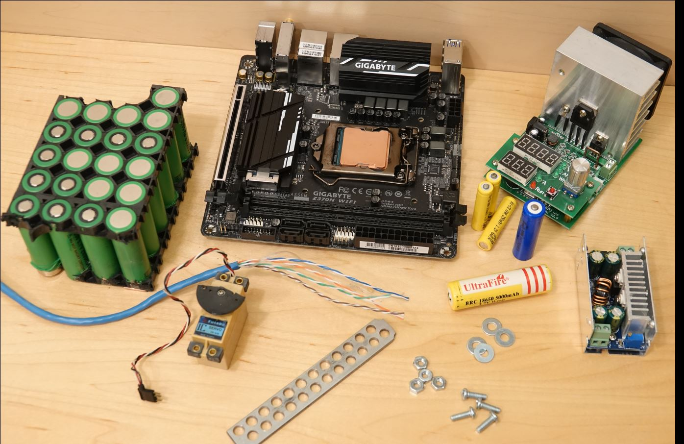 There are many different tools used to build robots.