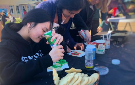 Holiday Village brings spirit to the quad