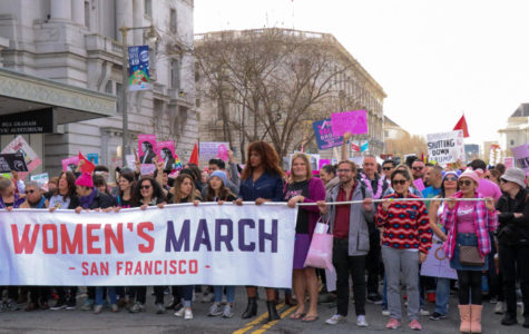 San Francisco's Women's March protest for equal rights - Bella Reeves