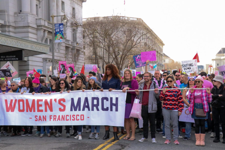 San+Francisco%27s+Women%27s+March+protest+for+equal+rights+-+Bella+Reeves