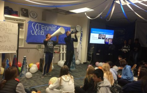 Screamin' Scots meeting brings out school spirit