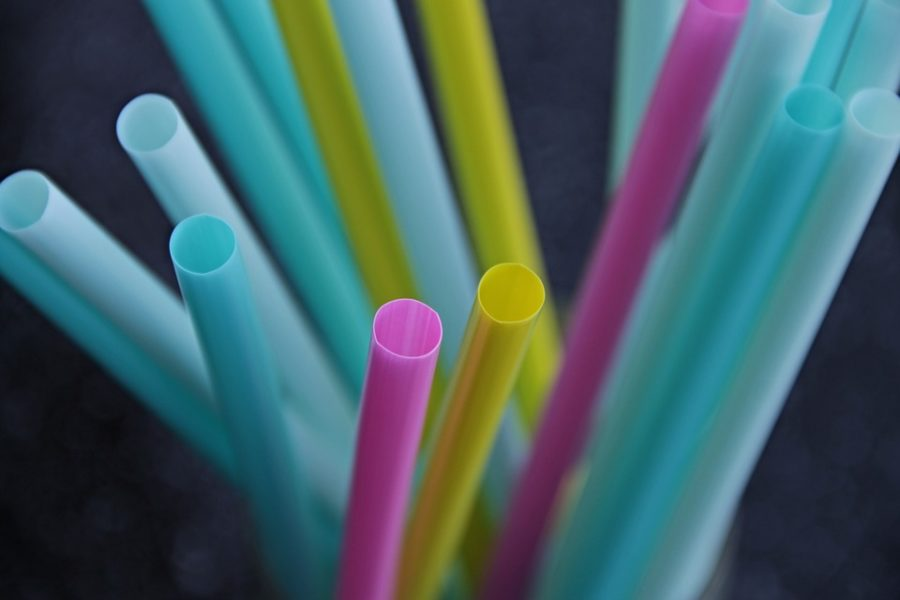 Plastic straws are one example of a single-use food acessory that is planned to be banned in certain cities.