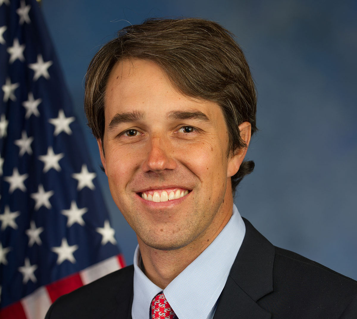 Former Texas Rep. Beto O'Rourke held a rally in El Paso to combat the president's pro-wall rally