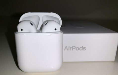 AirPods, a product manufactured by Apple, were released in December  of 2016.